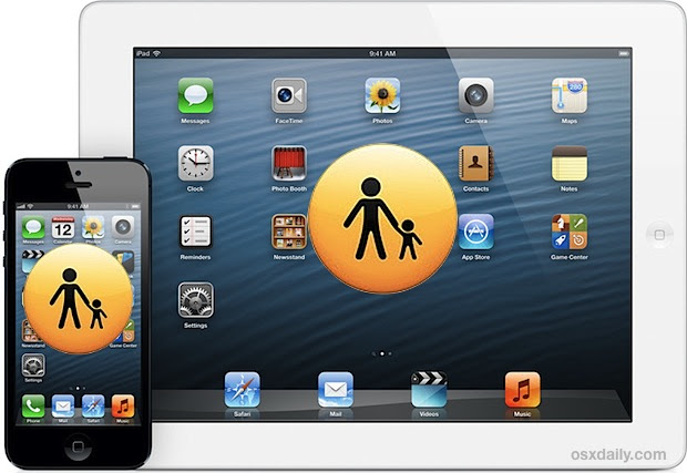 Use Restrictions as Parental Controls for iPhone, iPad, iPod Touch