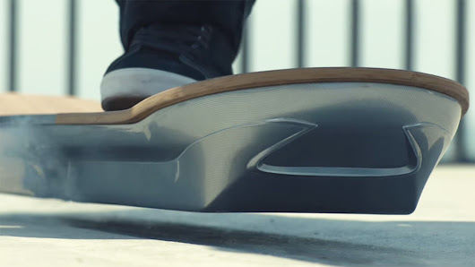 Ad of the Day: With Lexus' Real Hoverboard, Skaters Have to Relearn Everything From Scratch