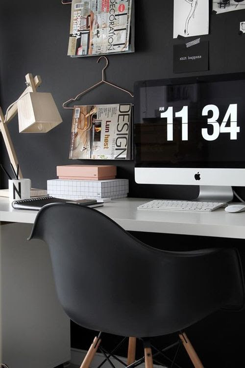#office spaces #interior design #black and #white interiors #inspiration #display #modern #style