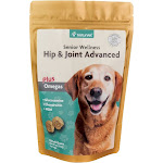 NaturVet Senior Hip & Joint Advanced Soft Chews for Dogs, 120 Count