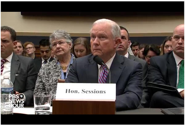Image result for house hearing jeff sessions