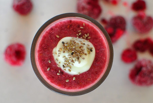 Chia Raspberry Mousse