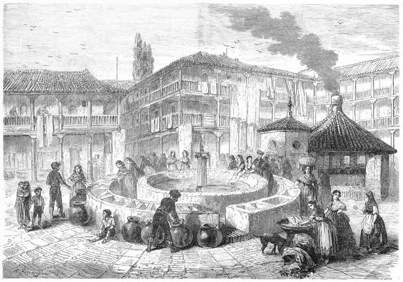 Corral del Conde - 1850 - Adolph Rouargue