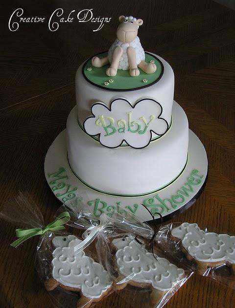 Cake Decorating Room : Living Room Decorating Ideas: Baby Shower Lamb Cake Ideas