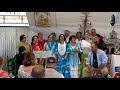 La Casa de Andalucía celebra su tradicional Misa rociera en la caseta de fiestas con más de 400 asistentes