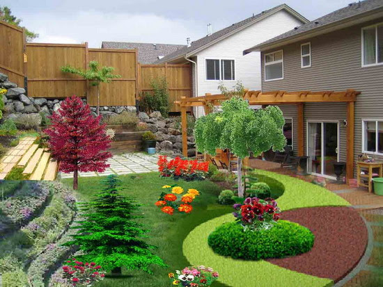Front Yard Landscaping Ideas Texas Small Landscape Ideas