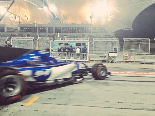 Q2 for Pascal now! Currently P13 - time to fetch fresh rubber and go out for a final run soon.  #SauberF1Team...