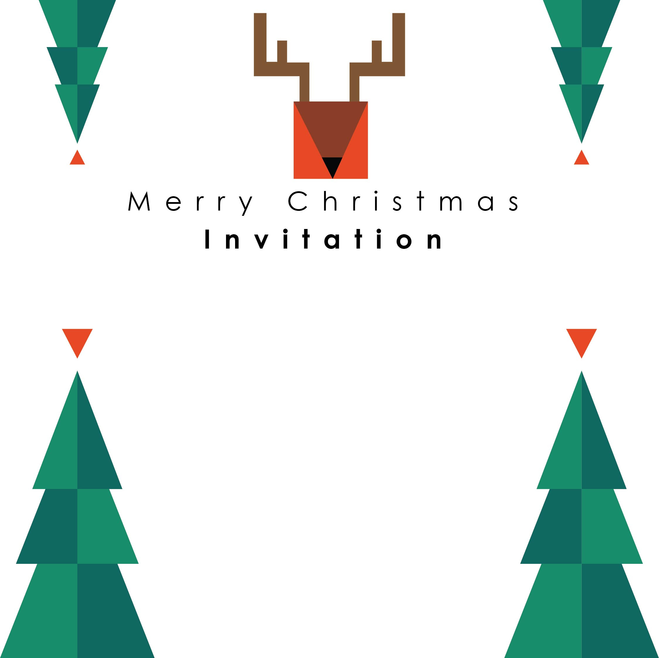 7 Best Images of Christmas Coloring Printable Invitations ...