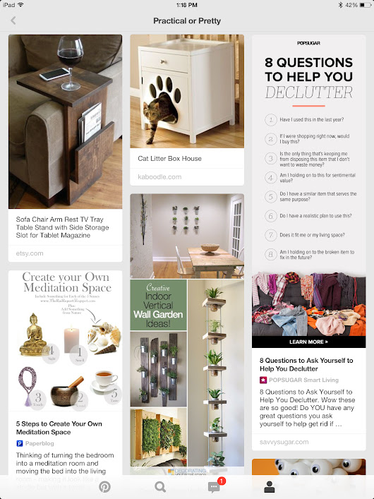SDD Clutter Free Day 13: Magazines and Visualizations of Life and Home