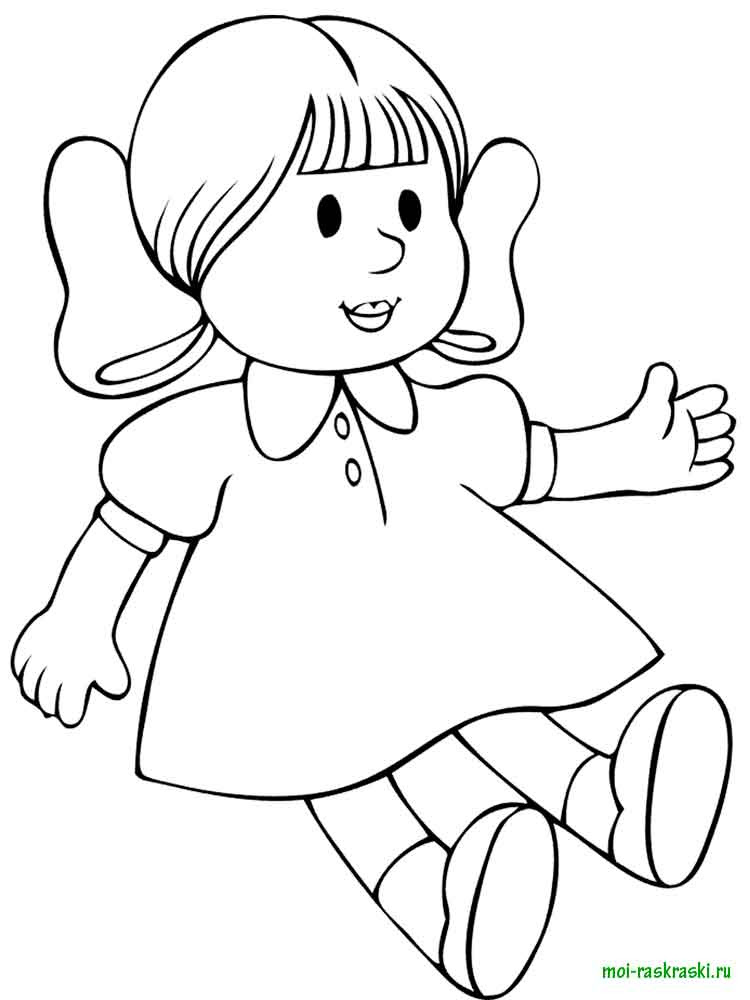 doll coloring pages 24