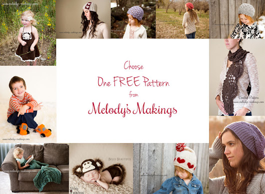 Choose One FREE Pattern {Limited Time Only!}