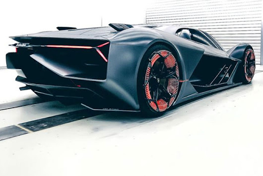 Lamborghini Introduces Its First All-Electric Sports Car Concept, Terzo Millennio