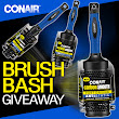 CONAIR'S BRUSH BASH GIVEAWAY