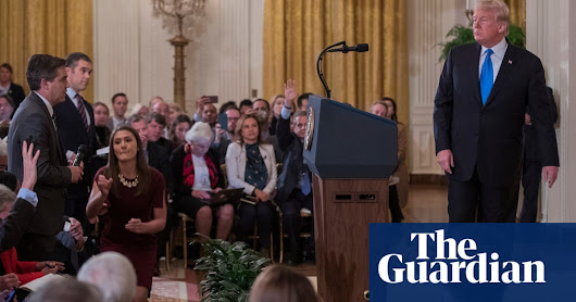 Trump's chaotic post-midterms press conference – video highlights | US news | The Guardian