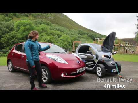 Mid Wales Electric Car Video Series