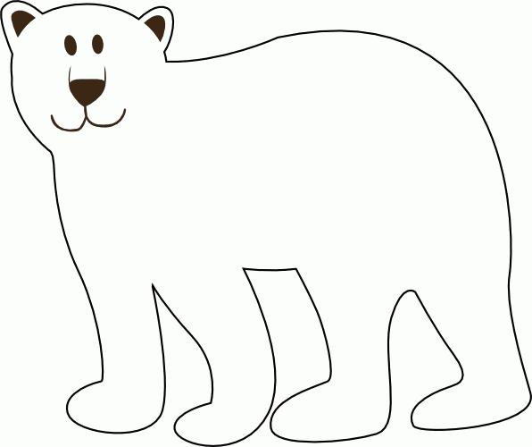 Como Dibujar Un Oso Polar Facil Imagui