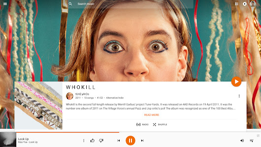 Google redesigns Play Music on the web with a bigger focus on artwork