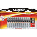 Energizer Max AAA Alkaline Battery, Silver - 24 pack