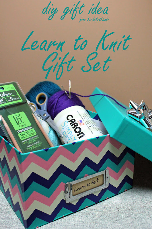 DIY Learn to Knit Gift Set for Beginner Knitters - PurlsAndPixels