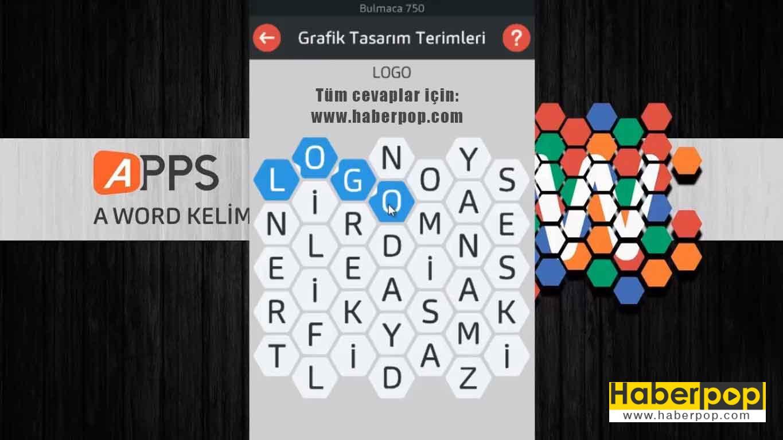 A Word Oyunu Tüm Soru Ve Cevapları Bölüm Sonu Haberpop