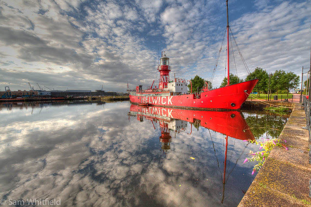 Helwick Lightship (explored!)