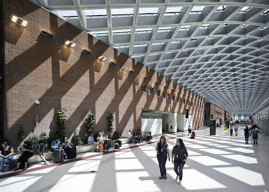 New Terminal of the Marco Polo Airport in Venice - e-architect