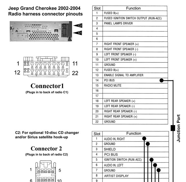 2007 Jeep Grand Cherokee Radio Wiring Diagram