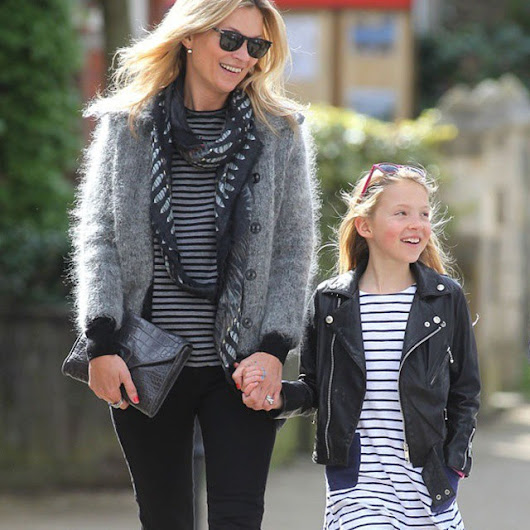 Kate Moss and Her Daughter Do Mummy-and-Me Style, the London Way