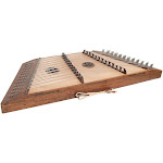 Roosebeck DH12-11R Pro Quality 12/11 Course Sheeshasm Hammered Dulcimer w/ Hammers