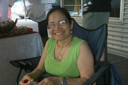 Tita Allom at Parap Market