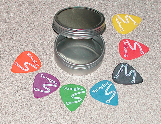 Stringjoy POM Guitar Pick Sampler