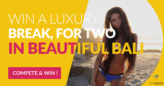 Win a 7-day Luxurious Trip for 2 to Bali
