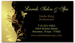 BCS-1020 - salon business card