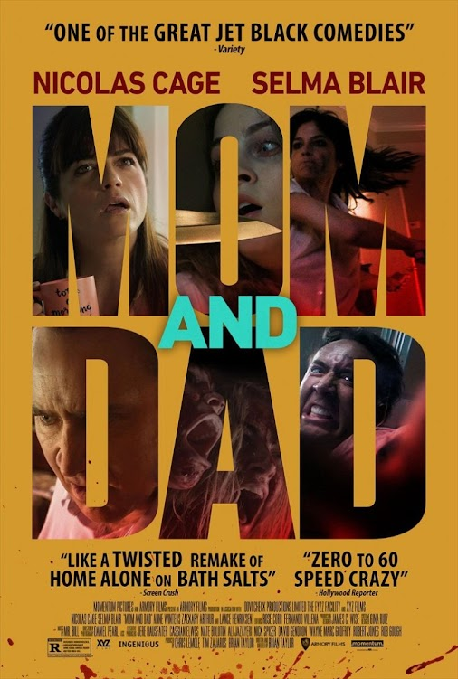Brian Taylor's horror comedy starring Nicolas Cage and Selma Blair began its theatrical run in Houston...
