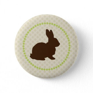 Easter Bunny Button button
