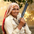Dirty Harry(Krishna): Indian grandmother, 78, is believed to be the world's oldest professional sharpshooter