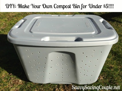 DIY: How to Make Your Own Compost Bin for Under $5!!