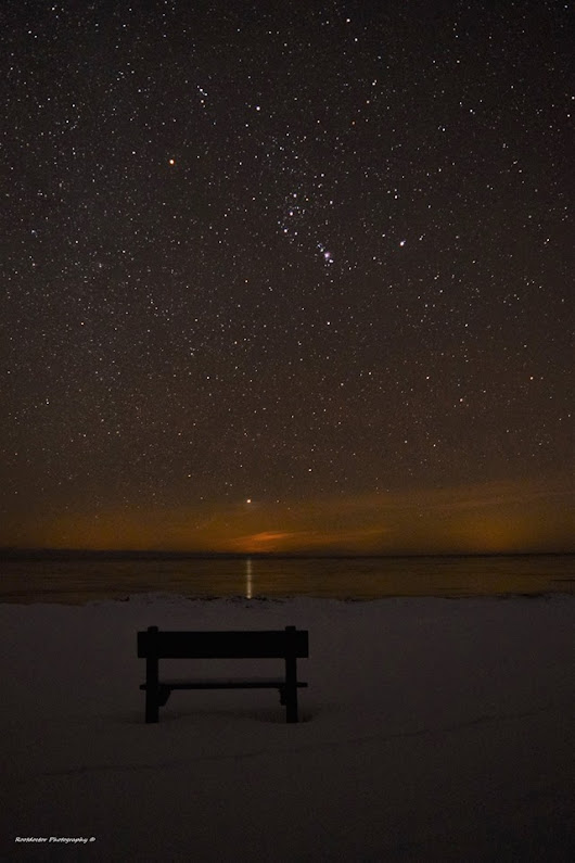 Sirius rising over Lake Huron | EarthSky.org