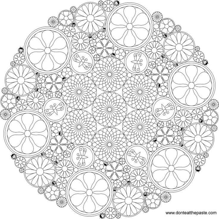 Free Difficult Flower Coloring Pages Download Free Clip Art Free Clip Art On Clipart Library