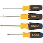 Dewalt Dwht62512 Screwdriver Set With Color-coded Handle, 4-piece