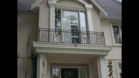 modern railing balcony design  home youtube