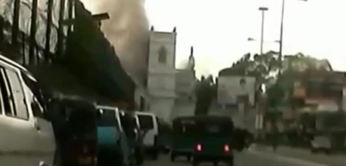 «Ματωμένο Πάσχα» στη Σρι Λάνκα: Δείτε τη στιγμή της έκρηξης σε μία από τις εκκλησίες Τουλάχιστον 158 νεκροί