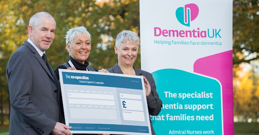 An incredible £5,000 has been raised for Dementia UK
