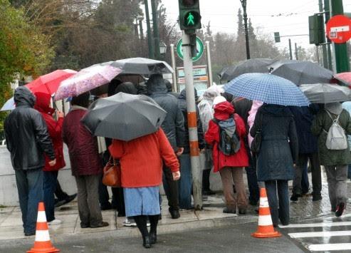 Καιρός: Βροχές και κρύο την Τρίτη - Αναλυτική πρόγνωση