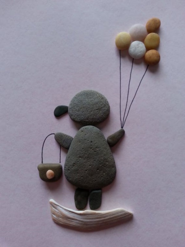 Handy Rock And Pebble Art Ideas For Many Uses5
