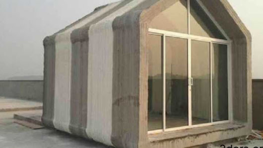 Using 3D Printers To Generate Villages Of Houses