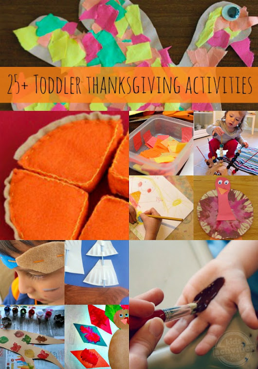 Thanksgiving Activities for Toddlers - Kids Activities Blog