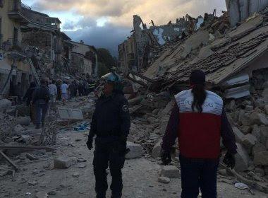 Novo terremoto, de 4,2 graus na escala Richter, atinge região central da Itália