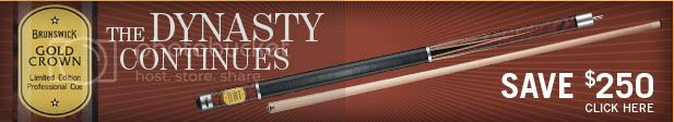 Brunswick Billiards Gold Crown V Pool Cue by Predator Image