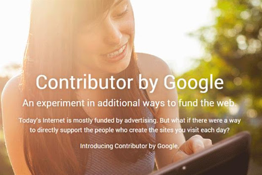 Google Contributor: the end of ads on the web?